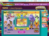PBS Kids Cyber Olympics Game