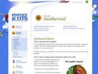 EIA's Geothermal Webpage