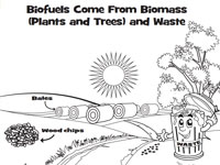 U.S. Bioenergy Technologies Office's BioenergizeME Coloring and Activity Book